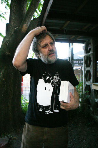 Slavoj Žižek – philosopher, speaker at 'Marx-is-muss-Congress' Berlin