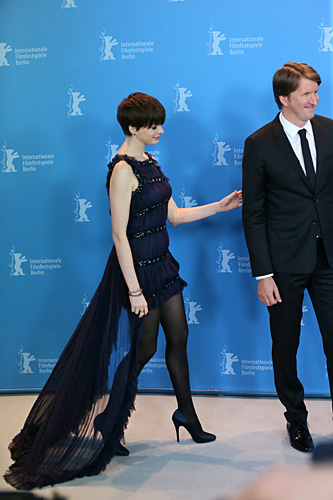 Photo Call - 'Les Miserables', Actress Anne Hathaway and Director Tom Hooper