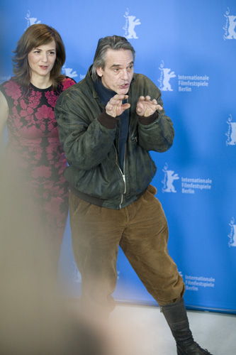 Photo Call - 'Night Train to Lisbon', Actors  Martina Gedeck & Jeremy Irons