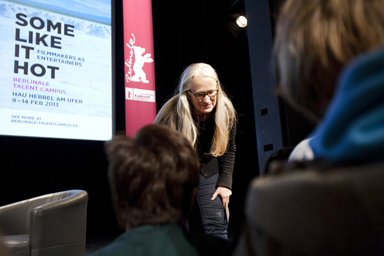 Berlinale Talent Campus - HAU, Workshop with Film Director Jane Campion, ('Top of the Lake')