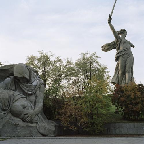 Hero City Stalingradgrad, Mamajew Kurgan, Operation Barbarossa -